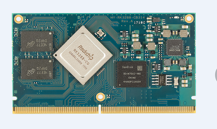 Rockchip RK3288 Quad-core Cortex-A17 up to 1.8GHz Linux Andorid