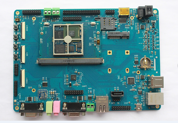 Freescale i.MX6Q NXP cortex A9  EK336 Development Board