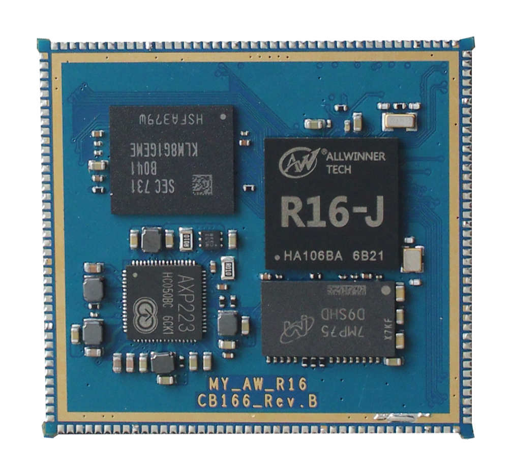 Allwinner R16 Quad-core Cortex™-A7 Linux Android Smart Home