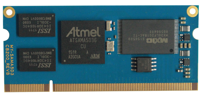 Atmel EKSAMA5D36 development board